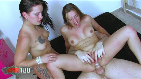 Nasty sisters get banged photo 1