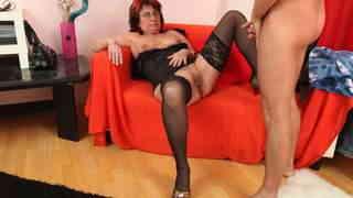Old slut likes young and big cocks photo 3