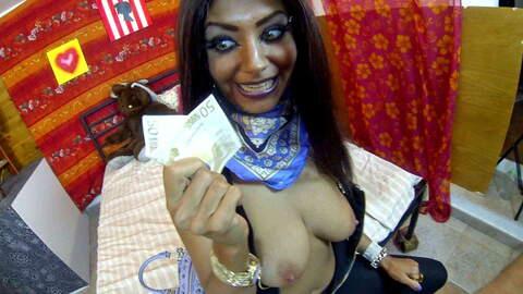 Pretty arabian babe shot and fucked po...photo 3