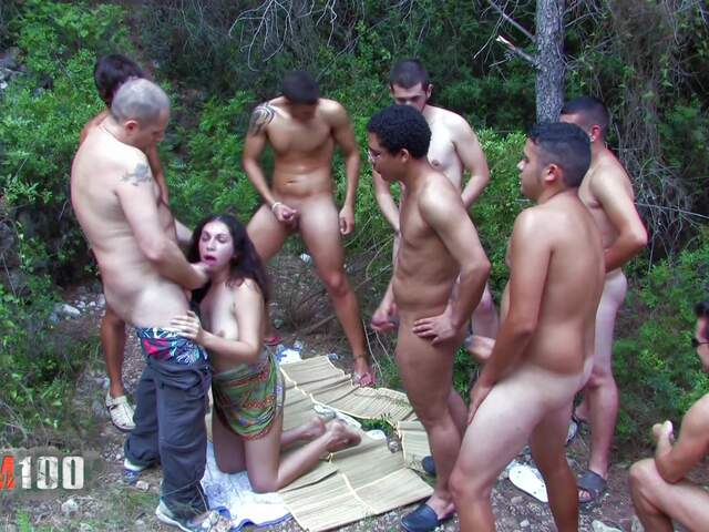 Porn video :   Kelly Toma Gang Bang photo 14